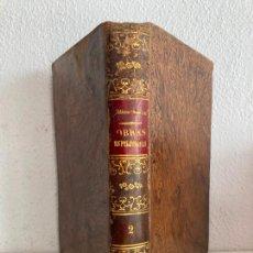 Libri antichi: ALLAN KARDEC - EL CIELO Y EL INFIERNO , 1880 + EL GENESIS , 1879 - ENCUADERNADO EN UN VOLUMEN. Lote 254867775