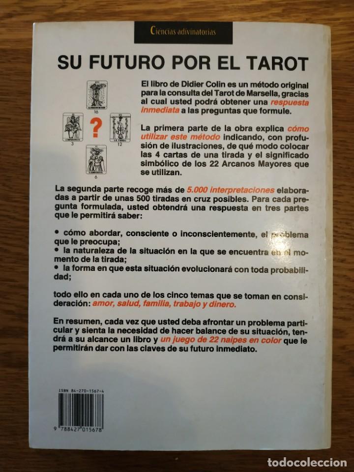 Libros antiguos: El gran libro práctico del tarot. Martínez Roca - Foto 3 - 255589005