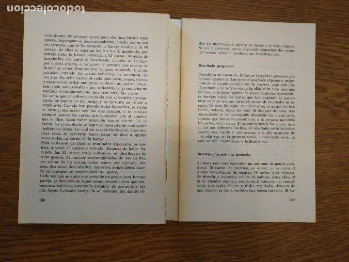 Libros antiguos: El futuro revelado por el tarot CON los 22 arcanos - Foto 3 - 255599855