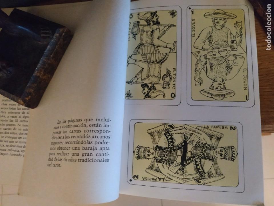 Libros antiguos: El futuro revelado por el tarot CON los 22 arcanos - Foto 4 - 255599855