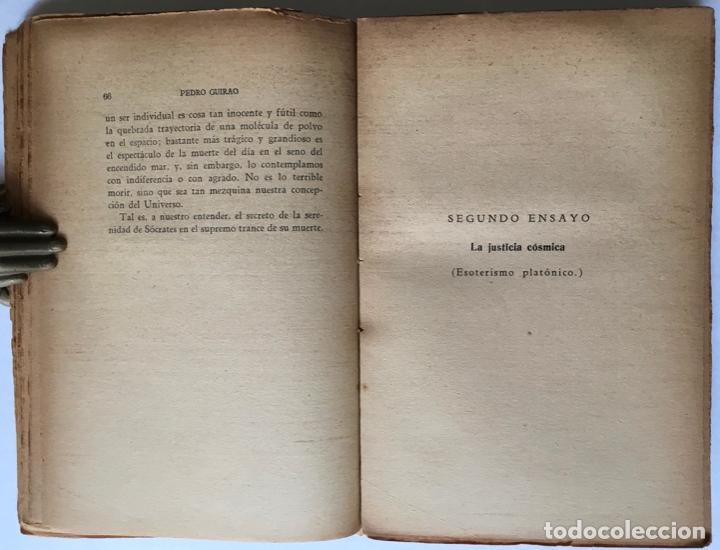 Libros antiguos: SEIS ENSAYOS SOBRE ESOTERISMO. - GUIRAO, Pedro. - Foto 5 - 123199059