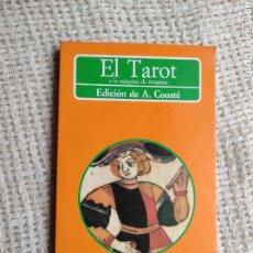Libros antiguos: EL TAROT O LA MÁQUINA DE IMAGINAR / A. COUSTÉ -ED. AKAL EDITOR. Lote 260565365
