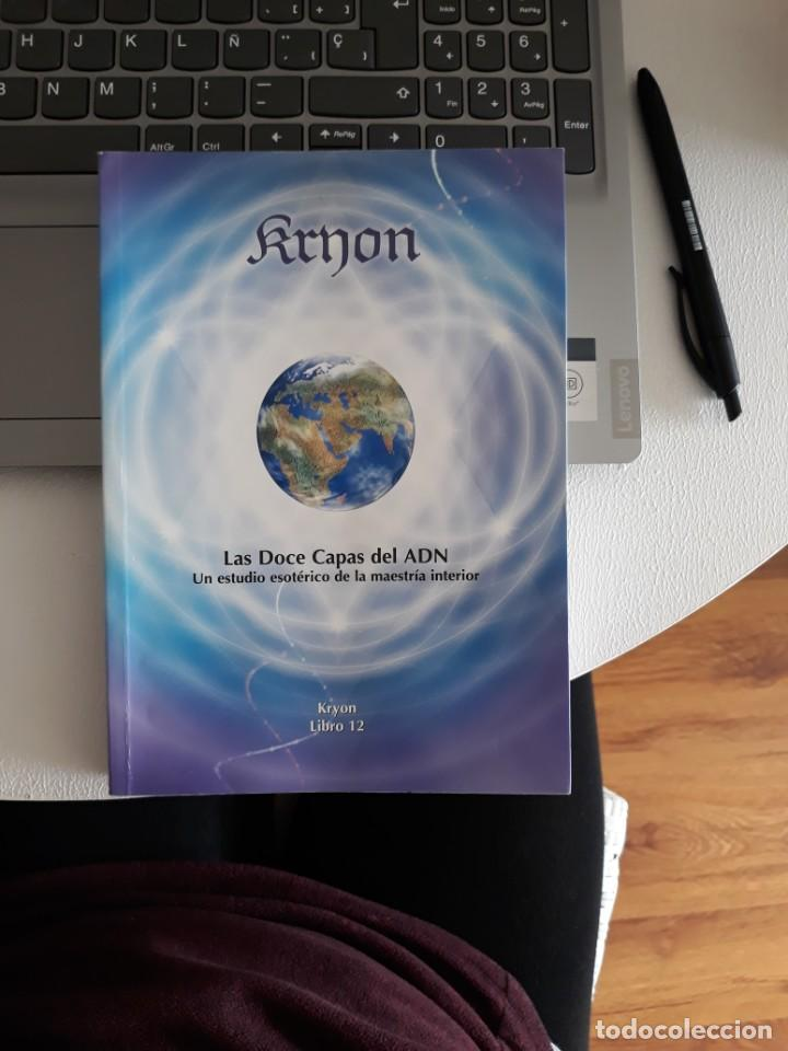 LAS DOCE CAPAS DEL ADN. KRYON LIBRO 12 (Libros Antiguos, Raros y Curiosos - Parapsicología y Esoterismo)
