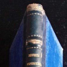 Libros antiguos: REVISTA ESPIRITISTA 1874 - AÑO COMPLETO - KARDEC RARO - PERIODICO. Lote 266395298