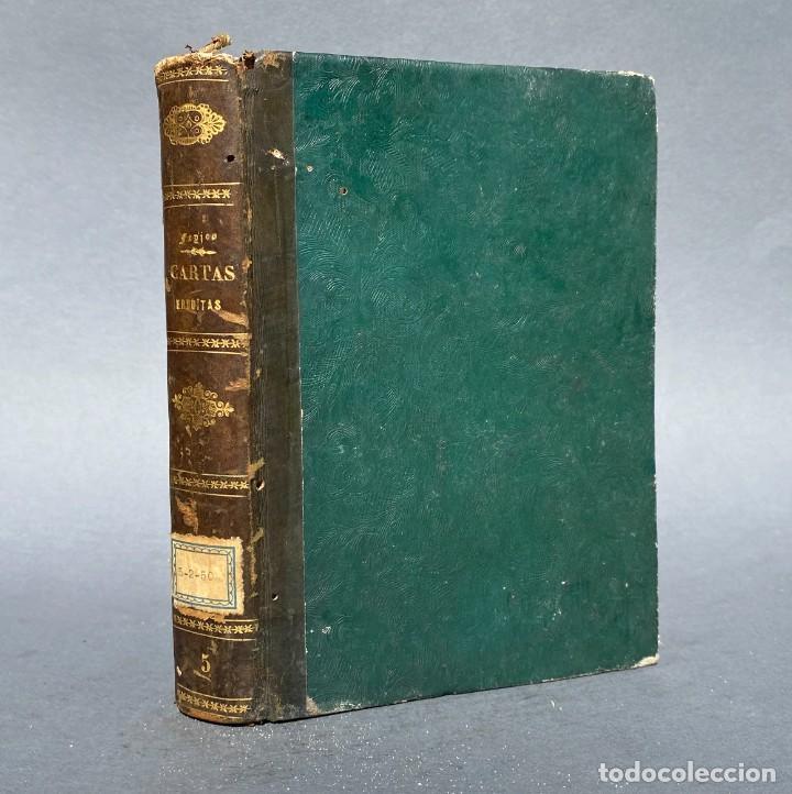 1781 - CARTAS ERUDITAS - MEDICINA CHINA - TERREMOTOS - SACRIFICIOS INCAS - HOMBRE DE LIERGANES (Libros Antiguos, Raros y Curiosos - Parapsicología y Esoterismo)
