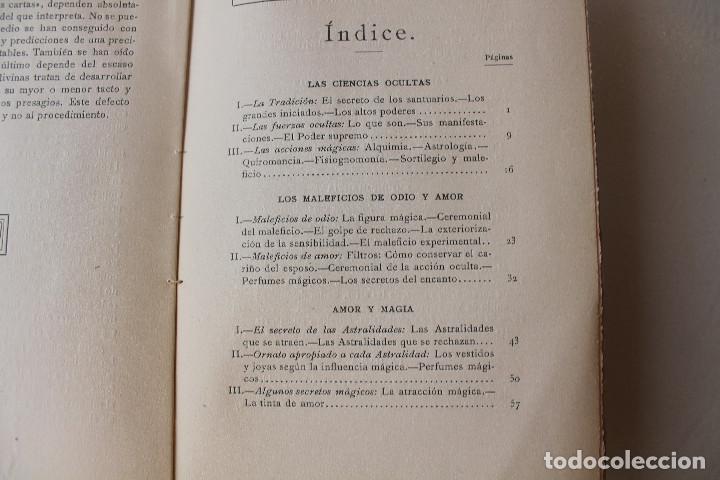 Libros antiguos: LAS CIENCIAS OCULTAS, J. VILLENEUVE, 1922, ED. ORRIER - Foto 5 - 267457044