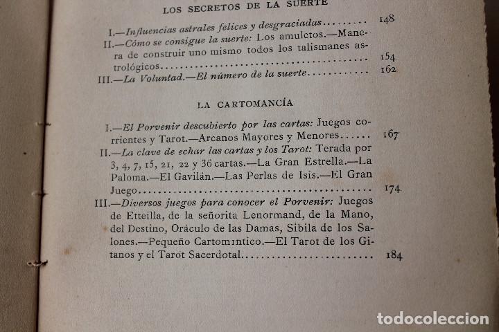 Libros antiguos: LAS CIENCIAS OCULTAS, J. VILLENEUVE, 1922, ED. ORRIER - Foto 9 - 267457044