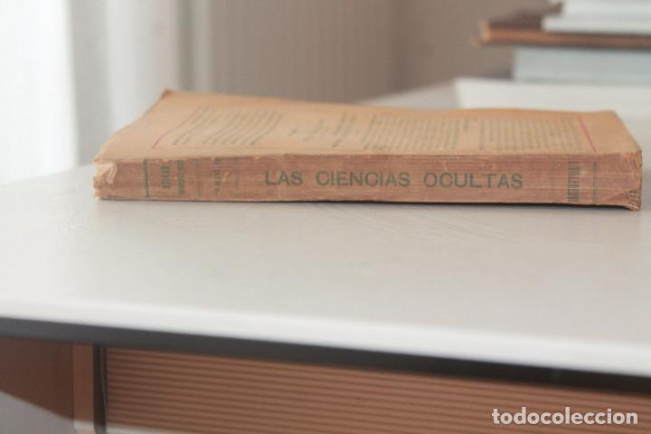 Libros antiguos: LAS CIENCIAS OCULTAS, J. VILLENEUVE, 1922, ED. ORRIER - Foto 11 - 267457044
