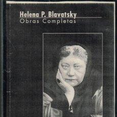 Livres anciens: CD OBRAS COMPLETAS H. P. BLAVATSKY - EDICIÓN A CARGO DE LA EDIT. TEOSÓFICA BARCELONA. Lote 270892198