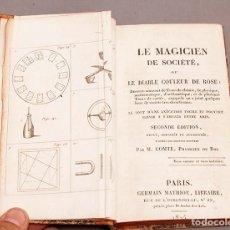 Libros antiguos: LE MAGICIEN DE SOCIÉTÉ, OU LE DIABLE COLEUR DE ROSE - 1825 - RARISIMO. Lote 272388838