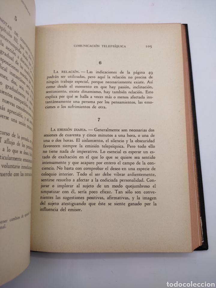 Libros antiguos: Hipnotismo a distancia año 1935 - Foto 3 - 275670568