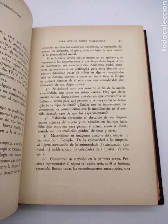 Libros antiguos: Hipnotismo a distancia año 1935 - Foto 4 - 275670568