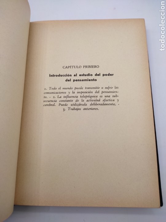 Libros antiguos: Hipnotismo a distancia año 1935 - Foto 5 - 275670568