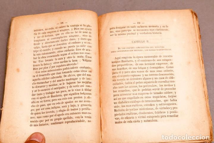 Libros antiguos: HISTORIA DEL GRAN ZAPATERO BANDARRA, INSIGNE CAZADOR DE BRUJAS POR RL DR. REFILANDO , 1867 - Foto 6 - 277142748