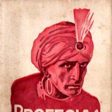 Libros antiguos: ALBERTO MOLL : PROFECÍAS Y CLARIVIDENCIA (HELIOS, 1929). Lote 280217168