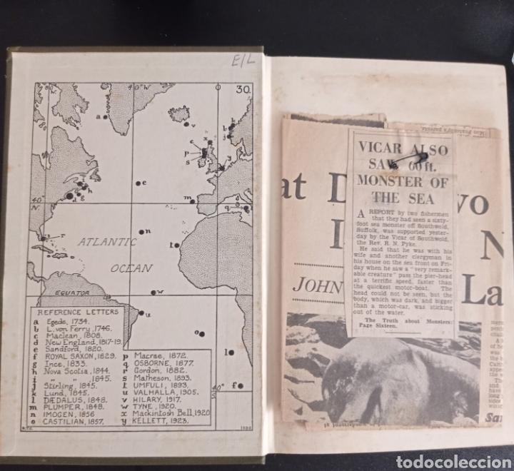 Libros antiguos: R. Gould The case for the sea serpent 1930 criptozoología enigmas misterios mar océano - Foto 3 - 286014443