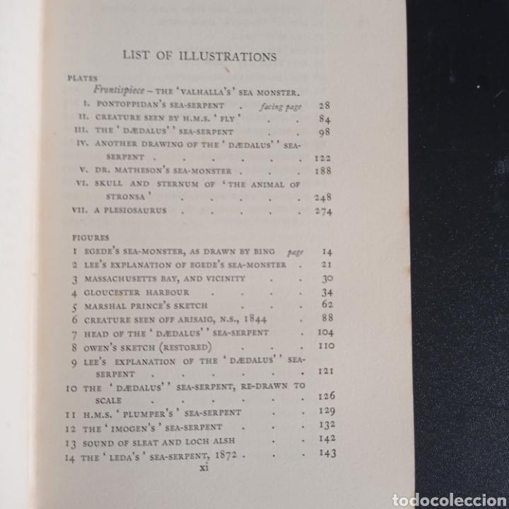 Libros antiguos: R. Gould The case for the sea serpent 1930 criptozoología enigmas misterios mar océano - Foto 6 - 286014443