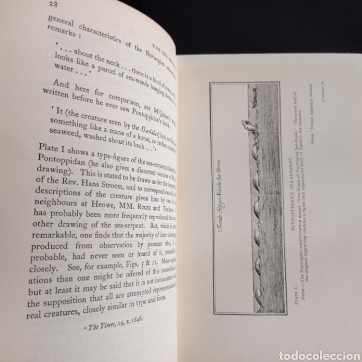 Libros antiguos: R. Gould The case for the sea serpent 1930 criptozoología enigmas misterios mar océano - Foto 8 - 286014443