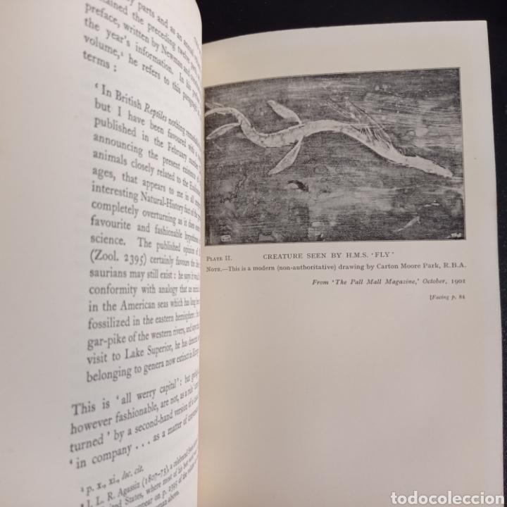 Libros antiguos: R. Gould The case for the sea serpent 1930 criptozoología enigmas misterios mar océano - Foto 10 - 286014443