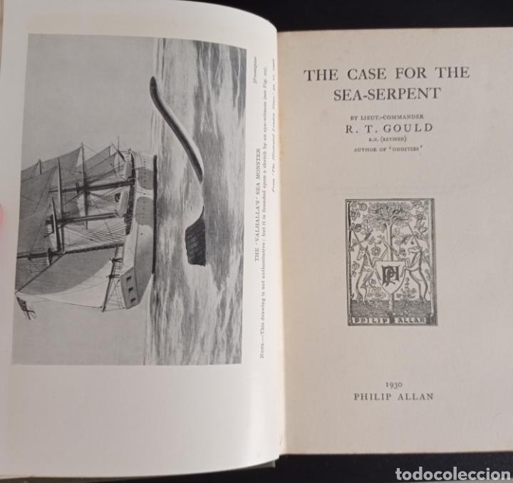 R. GOULD THE CASE FOR THE SEA SERPENT 1930 CRIPTOZOOLOGÍA ENIGMAS MISTERIOS MAR OCÉANO (Libros Antiguos, Raros y Curiosos - Parapsicología y Esoterismo)