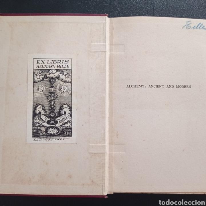 Libros antiguos: Stanley Redgrove Alchemy ancient and modern 1922 alquímica alquimia ocultismo química historia - Foto 2 - 286455493