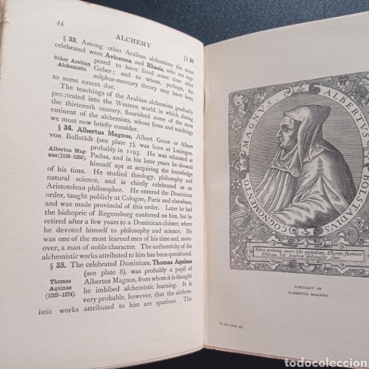 Libros antiguos: Stanley Redgrove Alchemy ancient and modern 1922 alquímica alquimia ocultismo química historia - Foto 11 - 286455493