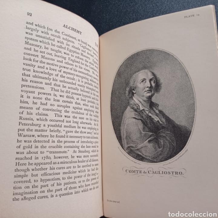 Libros antiguos: Stanley Redgrove Alchemy ancient and modern 1922 alquímica alquimia ocultismo química historia - Foto 13 - 286455493