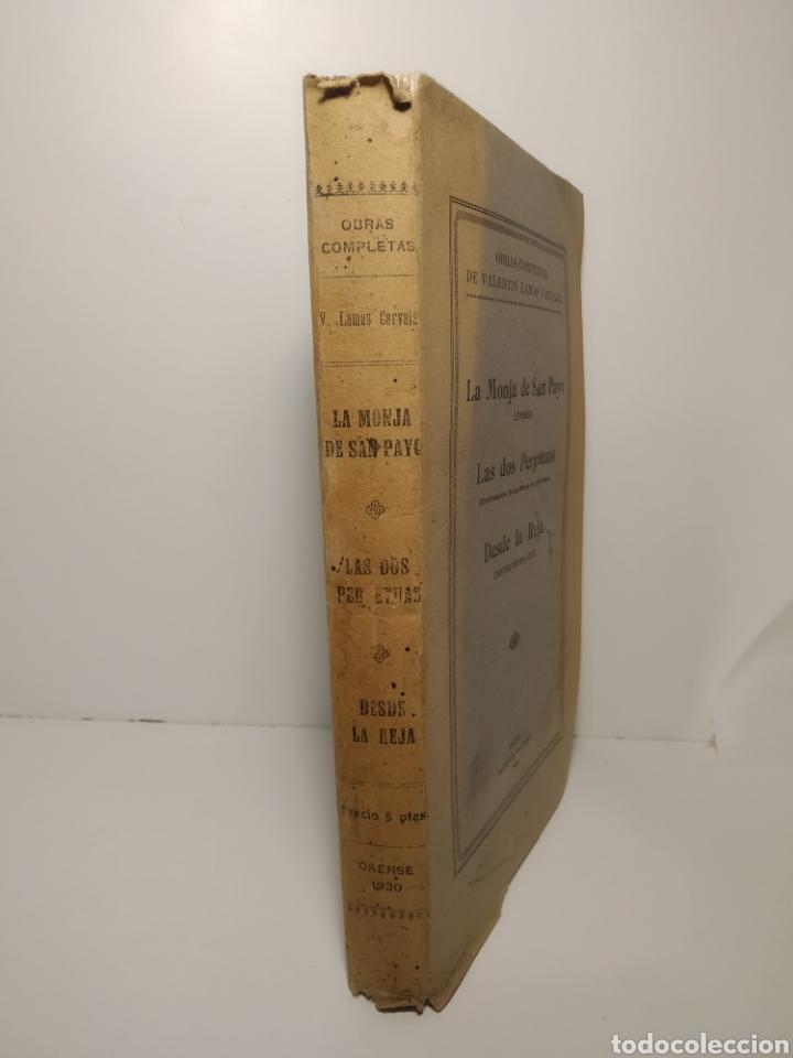 Libros antiguos: Valentín Lamas Carvajal: leyendas gallegas en verso. La Zarpa. 1930. Primera edicion. - Foto 2 - 286754883