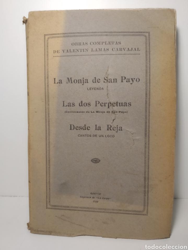 VALENTÍN LAMAS CARVAJAL: LEYENDAS GALLEGAS EN VERSO. LA ZARPA. 1930. PRIMERA EDICION. (Libros Antiguos, Raros y Curiosos - Parapsicología y Esoterismo)