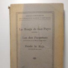 Libros antiguos: VALENTÍN LAMAS CARVAJAL: LEYENDAS GALLEGAS EN VERSO. LA ZARPA. 1930. PRIMERA EDICION.. Lote 286754883
