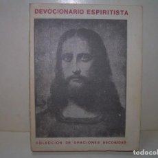 Libros antiguos: DEVOCIONARIO ESPIRITISTA......ALLAN KARDEC.. Lote 287776898