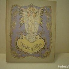 Libros antiguos: HADAS Y ELFOS..ILUSTRADO POR ROSA BATLLE... CON GRABADOS EN COLOR EN TODAS LAS PAGINAS. Lote 287777808