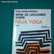 Libros antiguos: YOGI RAMACHARAKA. RAJA YOGA.. Lote 288138968
