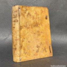 Libros antiguos: 1737 DUENDES Y ESPIRITUS FAMILIARES - PIEDRA FILOSOFAL - ZAHORIES - MILAGROS - PERGAMINO. Lote 289214828
