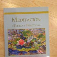 Libros antiguos: 'MEDITACIÓN. TEORÍA Y PRÁCTICA'. SESHA. Lote 295802148