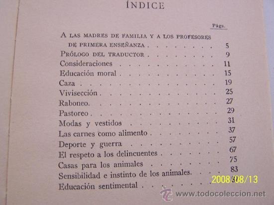 Libros antiguos: EL RESPETO A TODO SER VIVIENTE, APLICACIONES PRÁCTICAS DE MORAL PEDAGÓGICA-RODOLFO WALDO TRINE-S/F. - Foto 2 - 14885178