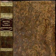 Libros antiguos: GRAMÁTICA DE LA LENGUA CASTELLANA – AÑO 1840. Lote 26517665