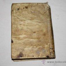 Libros antiguos: 1476- 'ELEMENTOS DE RETÓRICA CON EXEMPLOS LATINOS DE CICERON Y CASTELLANOS PARA USO DE LAS ESCUELAS. Lote 26722716