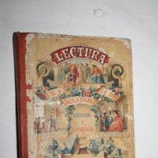 Libros antiguos: 0942- 'LECTURA ÚTIL Y AGRADABLE A LA NIÑEZ' POR D. MIGUEL SADERRA 21ª EDICIÓN AUMENTADA 1903. Lote 28347689