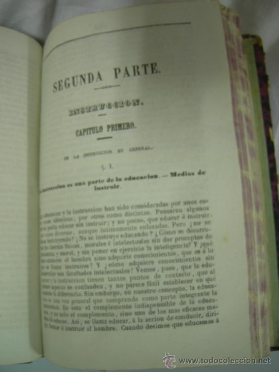 Libros antiguos: CURSO ELEMENTAL DE PEDAGOGÍA - JOAQUIN AVENDAÑO Y MARIANO CARDERERA - MADRID 1861 - Foto 6 - 28640618