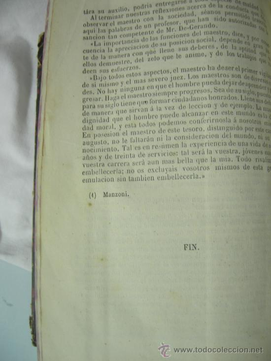 Libros antiguos: CURSO ELEMENTAL DE PEDAGOGÍA - JOAQUIN AVENDAÑO Y MARIANO CARDERERA - MADRID 1861 - Foto 8 - 28640618