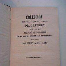 Libros antiguos: CONDE DE CHESTERFIELD. CARTAS ESCOGIDAS DEL C. DE CHESTERFIELD A SU HIJO, SOBRE LA EDUCACIÓN.. Lote 31920918