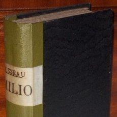 Libros antiguos: EMILIO (OBRA COMPLETA) POR J. J. ROUSSEAU DE LIBRERÍA DE ANTONIO NOVO EN MADRID 1879. Lote 33467912