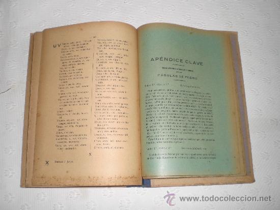 Libros antiguos: Crestomatía para ejercitarse en el aprendizaje del idioma latino. Demetrio Nalda. Cádiz 1925.1ª ed. - Foto 2 - 38275394