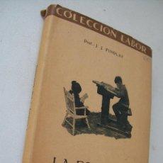Libros antiguos: LA ESCUELA, INTRODUCCIÓN AL ESTUDIO DE LA EDUCACIÓN-J.J. FINDLAY-1934-BIBLIOTECA DE INICIACIÓN LABOR. Lote 39884917