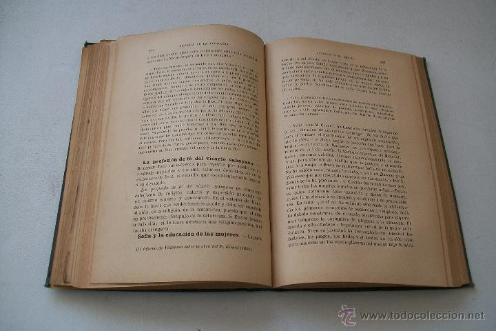 Libros antiguos: HISTORIA DE LA PEDAGOGÍA- GABRIEL COMPAYRÉ-S/F-HERNANDO Y Cª. IMPRESOR LIBRERO DE LA REAL- - Foto 7 - 39885017