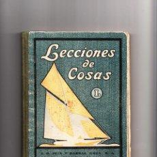 Libros antiguos: LECCIONES DE COSAS C. B. NUALART LIBRO PRIMERO TERCERA EDICIÓN SEIX BARRAL BARCELONA 1928. Lote 42051942