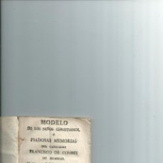 Libros antiguos: MODELO DE LOS NIÑOS CHRISTIANOS ... 1794. OBRA DESCONOCIDA. Lote 42175223