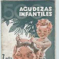 Libros antiguos: 500 AGUDEZAS INFANTILES, POR GARCÍA MERCADAL, EDS. IBÉRICAS MADRID 165 PÁGS, RÚSTICA, 12X17CM. Lote 43778832