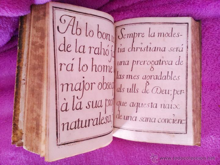 Libros antiguos: INSTRUCCIONS PER LENSENYANSA DE MINYONS, RT. BALDIRI RESACH 1748 - Foto 4 - 44767039